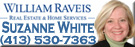 Suzanne White Raveis home house sale appraisal financing mortgage real estate realtor